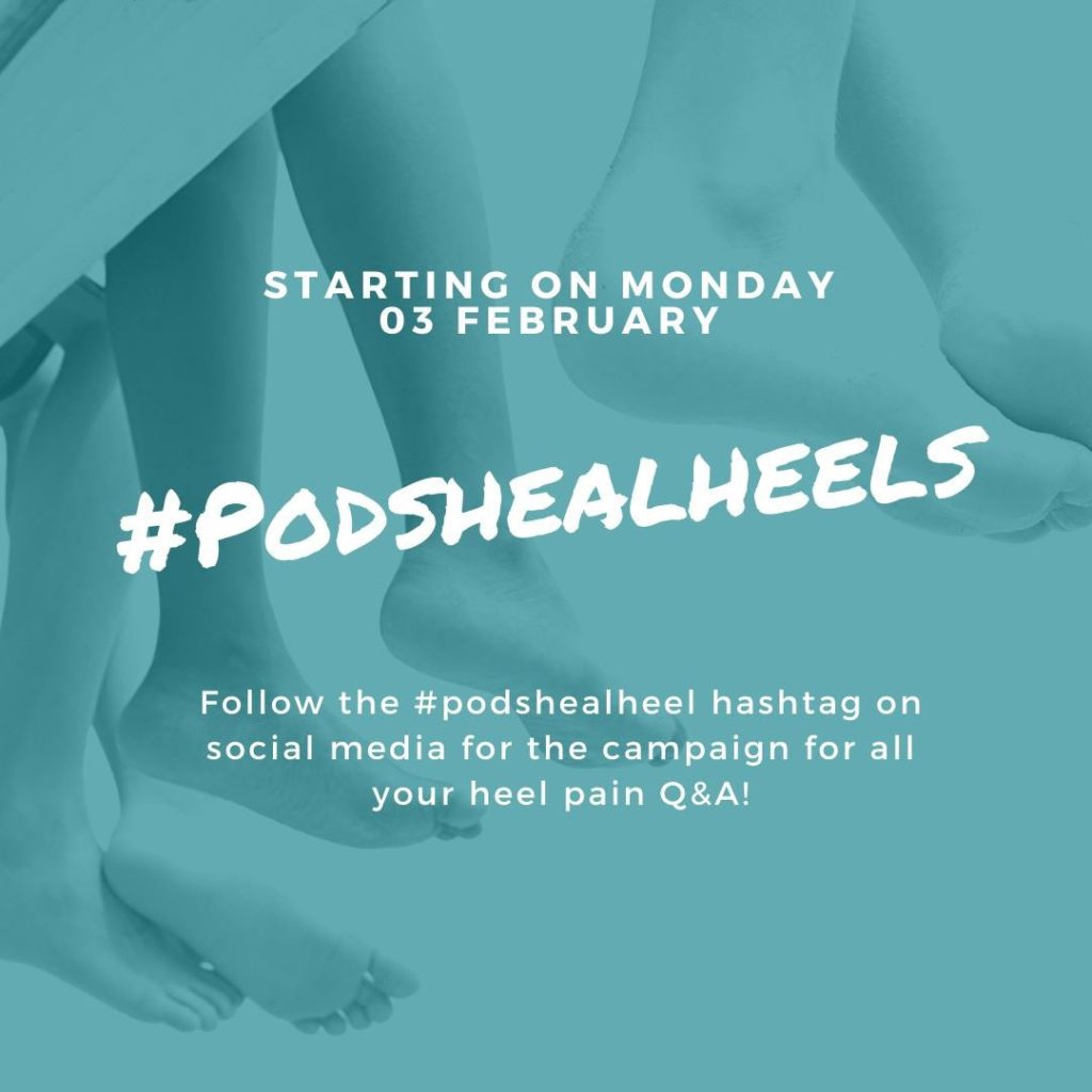 #podshealheels campaign poster